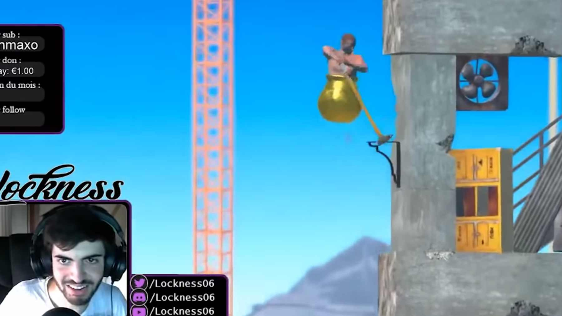 """Getting Over It"" in 84 Sekunden durchgespielt getting-over-it-speedclimb"