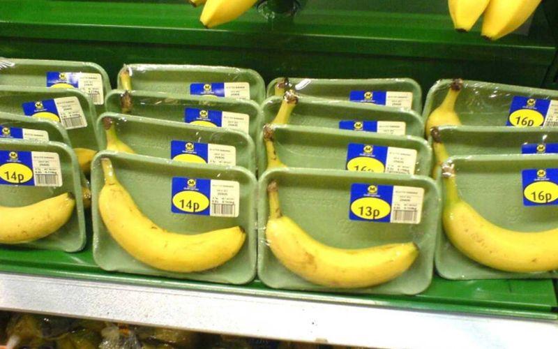 Umweltfeindliche Plastikverpackungen aus der Hölle