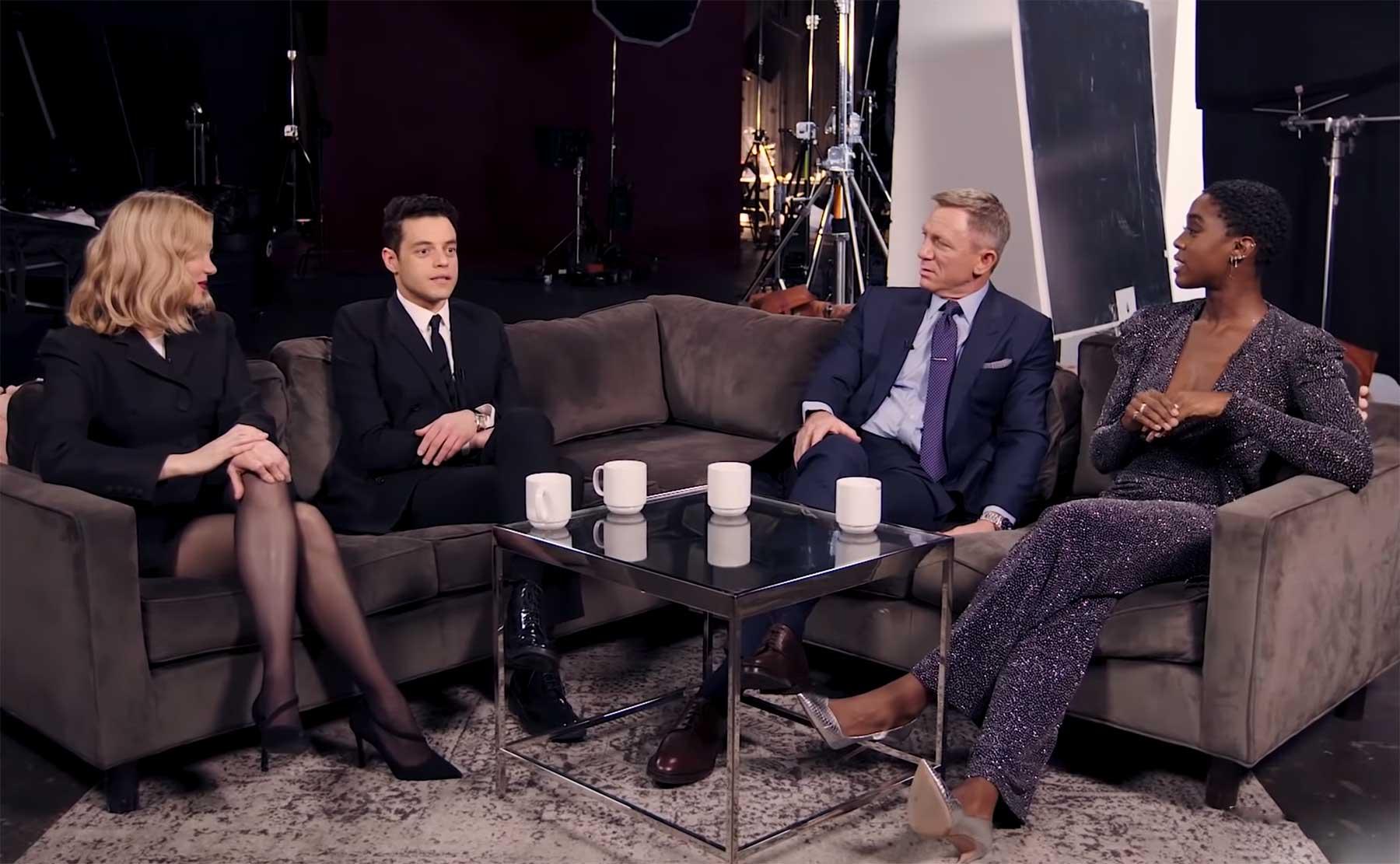 """""""No Time To Die"""": James Bond-Cast im Gespräch miteinander"""