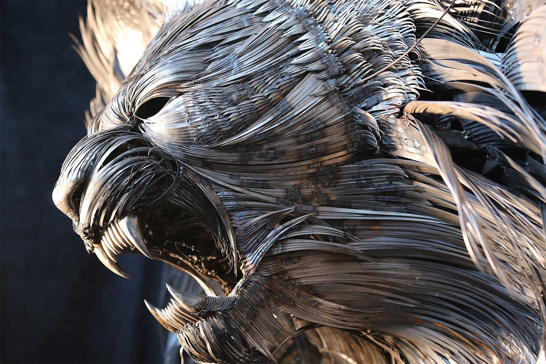 Geniale Altmetall-Skulpturen von Selçuk Yılmaz selcuk-yilmaz-metallskulpturen-2020_03