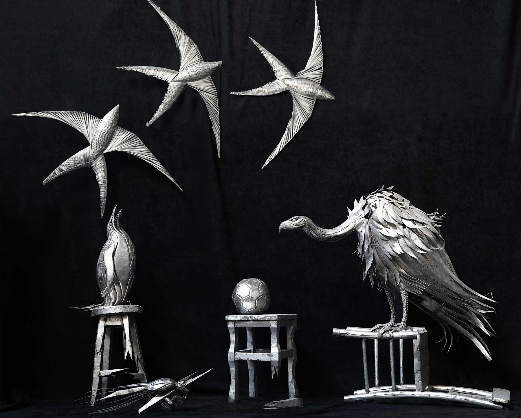 Geniale Altmetall-Skulpturen von Selçuk Yılmaz selcuk-yilmaz-metallskulpturen-2020_06