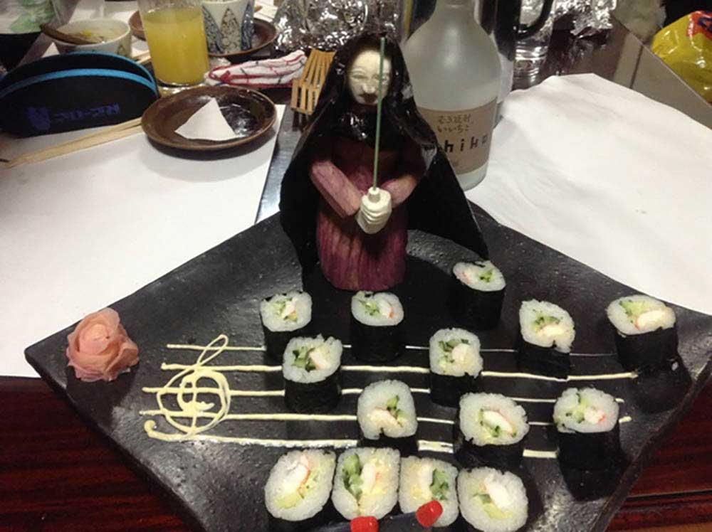 """""""Star Wars""""-Gemüseskulpturen von Okitsugu Kado sushi-gemuese-kreationen-star-wars_05"""