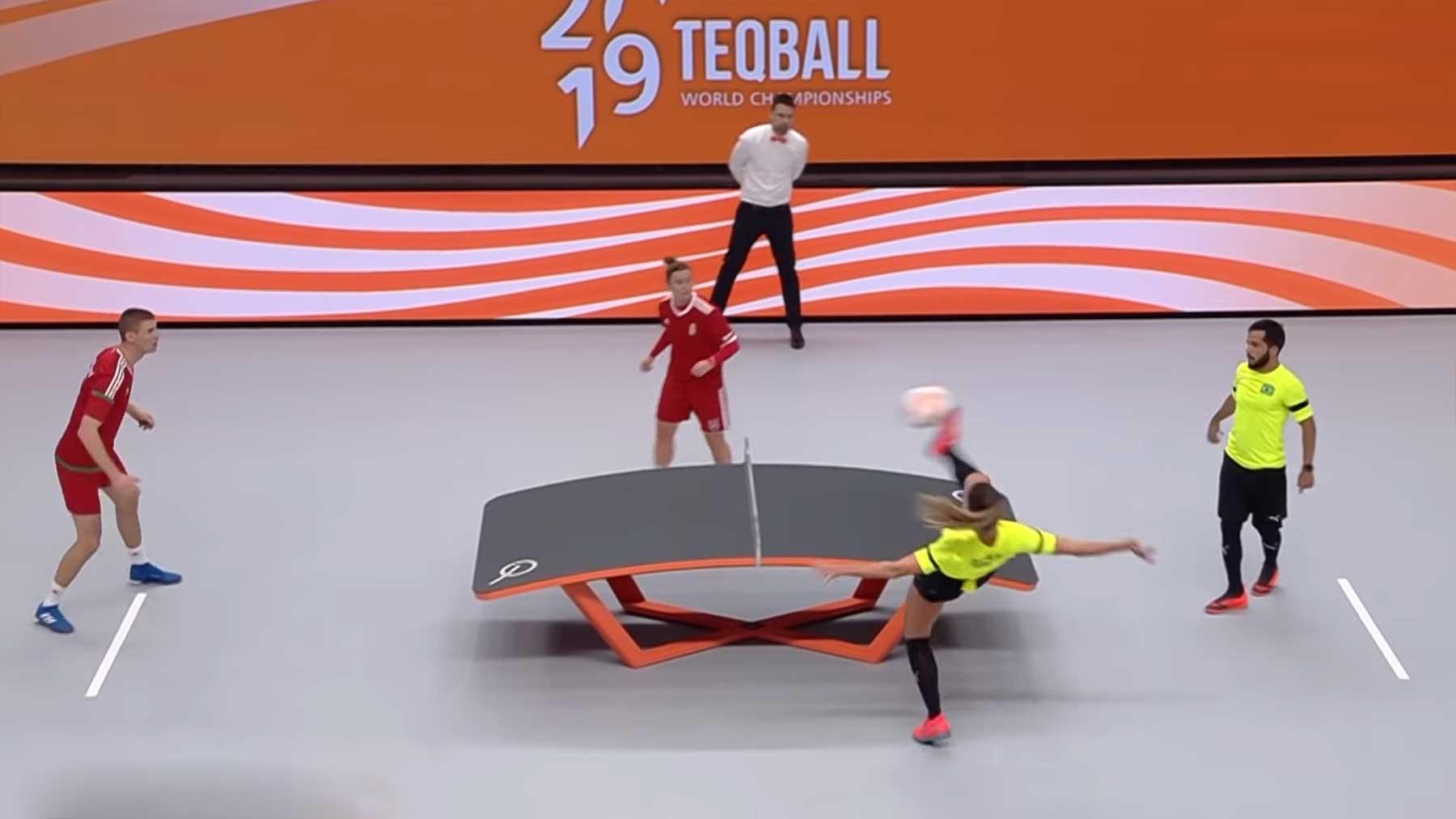 Fußball-Tischtennis: Teqball Weltmeisterschaften 2019