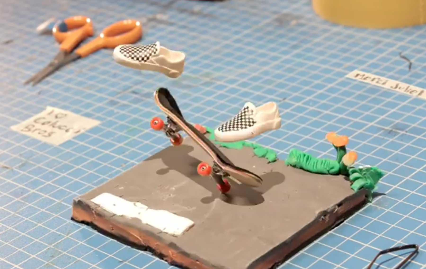 Geniale Stopmotion-Animationen von Victor Haegelin the-invisible-skater-Victor-Haegelin-stopmotion