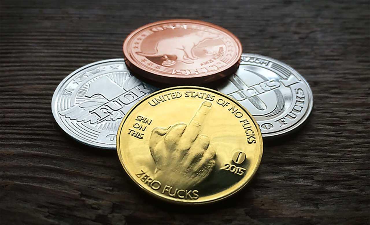 """Zero Fucks Coins"" zero-fucks-coins_06"