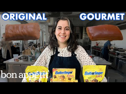 Gourmet-Köchin versucht, Butterfingers nachzumachen
