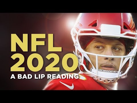 """NFL 2020"" — A Bad Lip Reading"