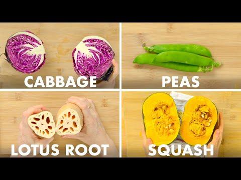 """Wie man """"alle"""" Gemüse richtig schneidet"""
