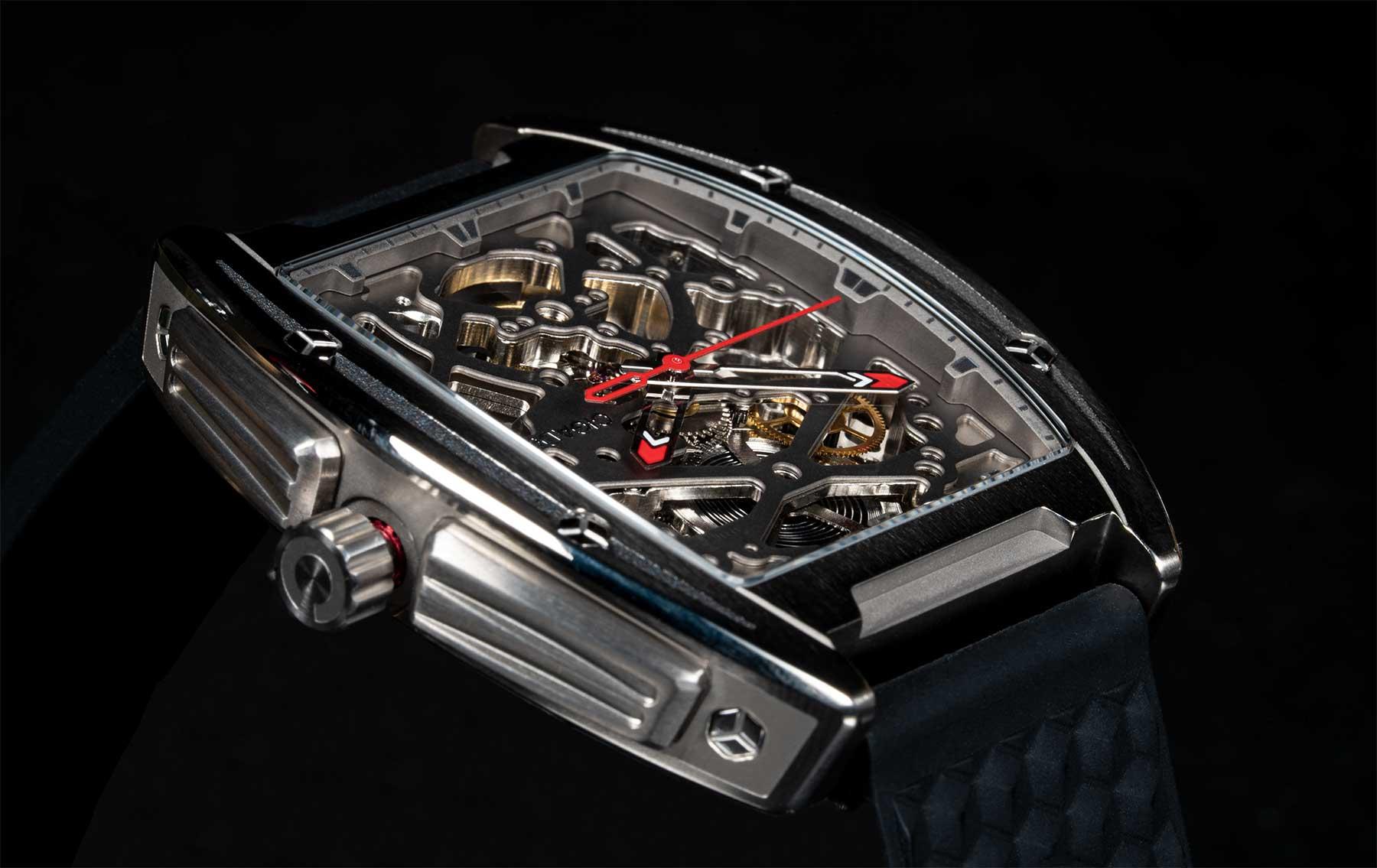 Starkes Design: CIGA Design Z-Series mechanische Titan-Armbanduhr