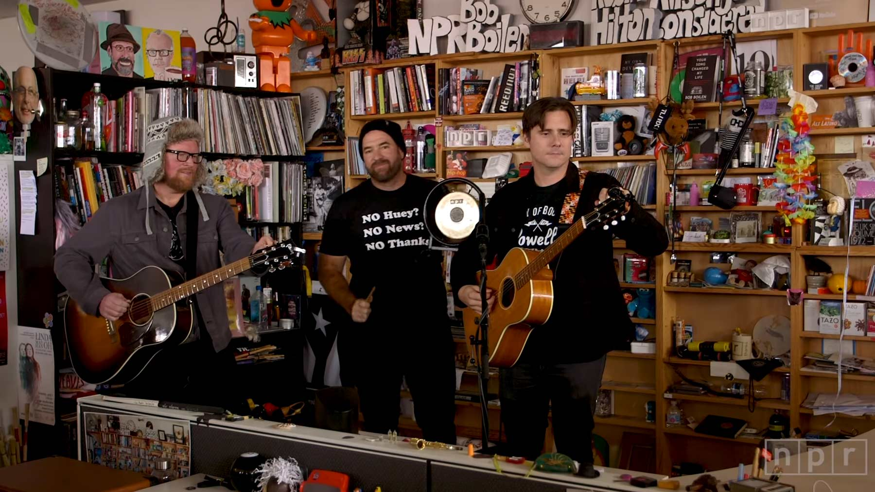 NPR Music Tiny Desk Concert: Jimmy Eat World