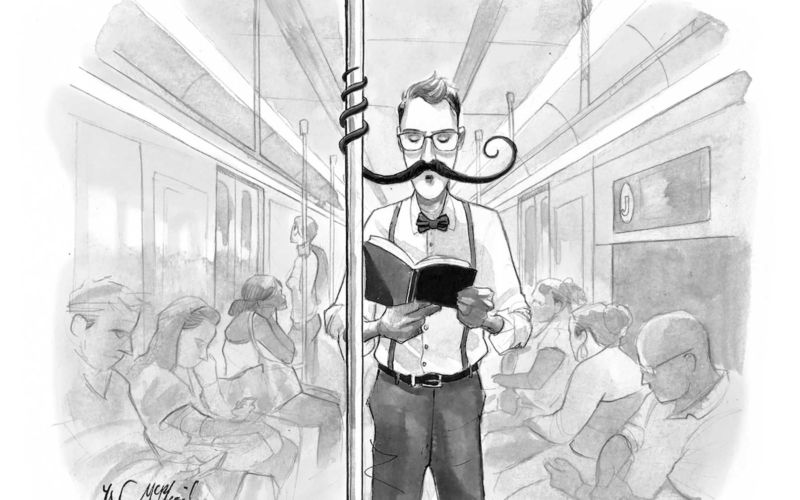 "Cartoons von Will McPhail für ""The New Yorker"""