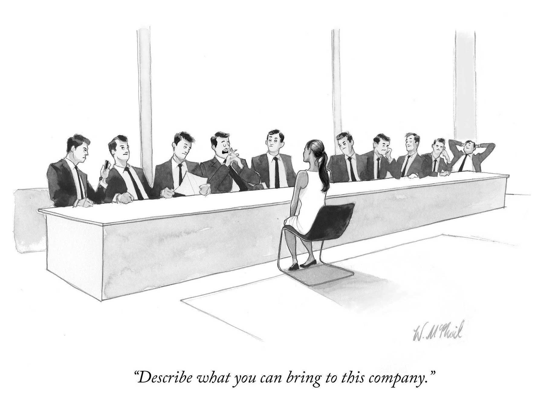 """Cartoons von Will McPhail für """"The New Yorker"""" Will-McPhail-cartoons-the-new-yorker_01"""