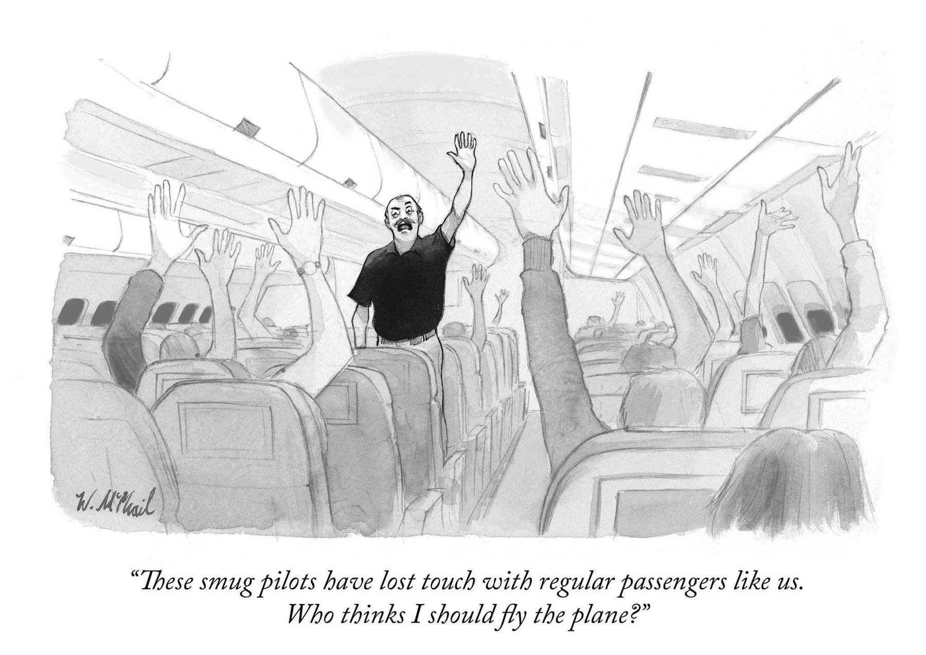 """Cartoons von Will McPhail für """"The New Yorker"""" Will-McPhail-cartoons-the-new-yorker_02"""