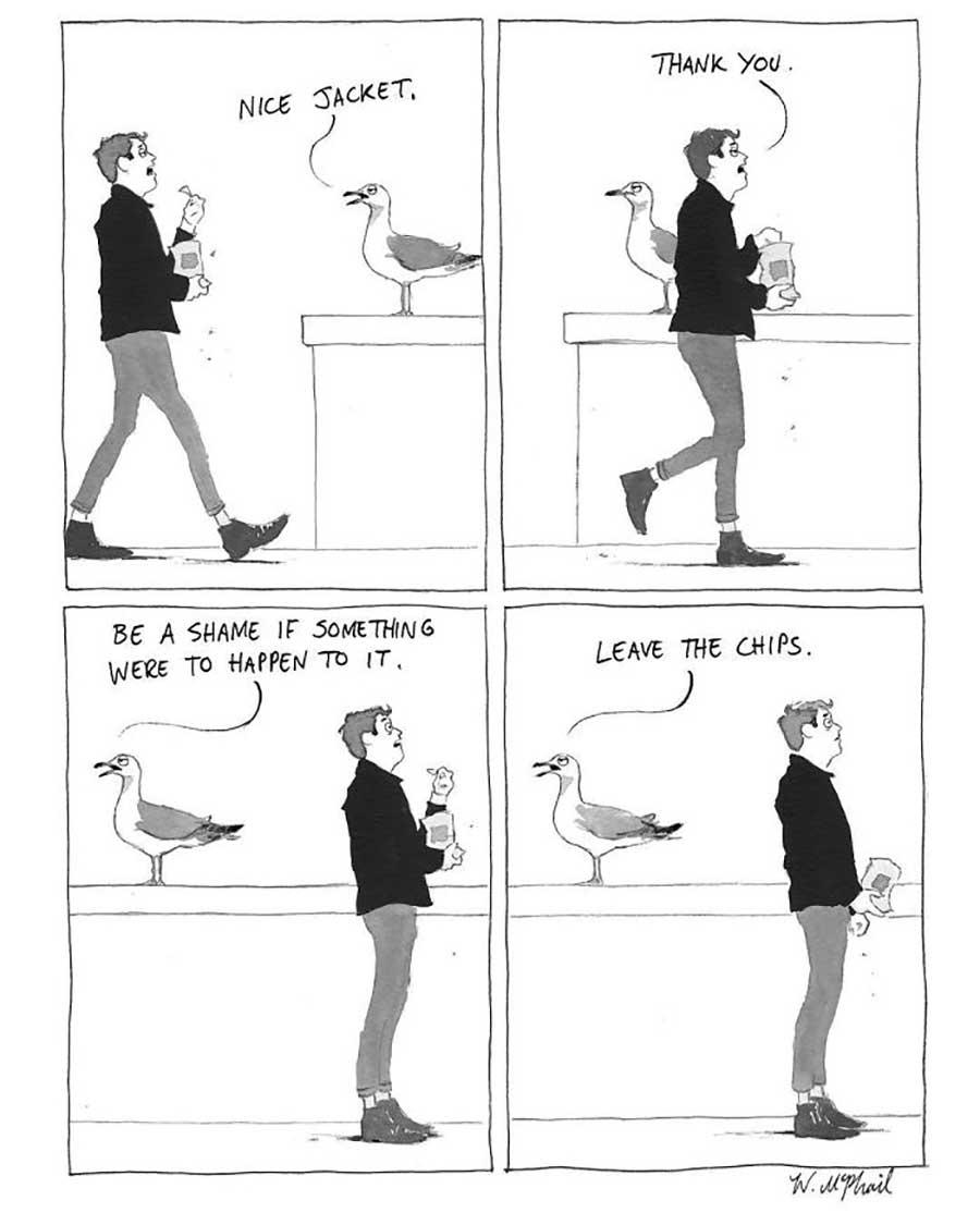 """Cartoons von Will McPhail für """"The New Yorker"""" Will-McPhail-cartoons-the-new-yorker_06"""