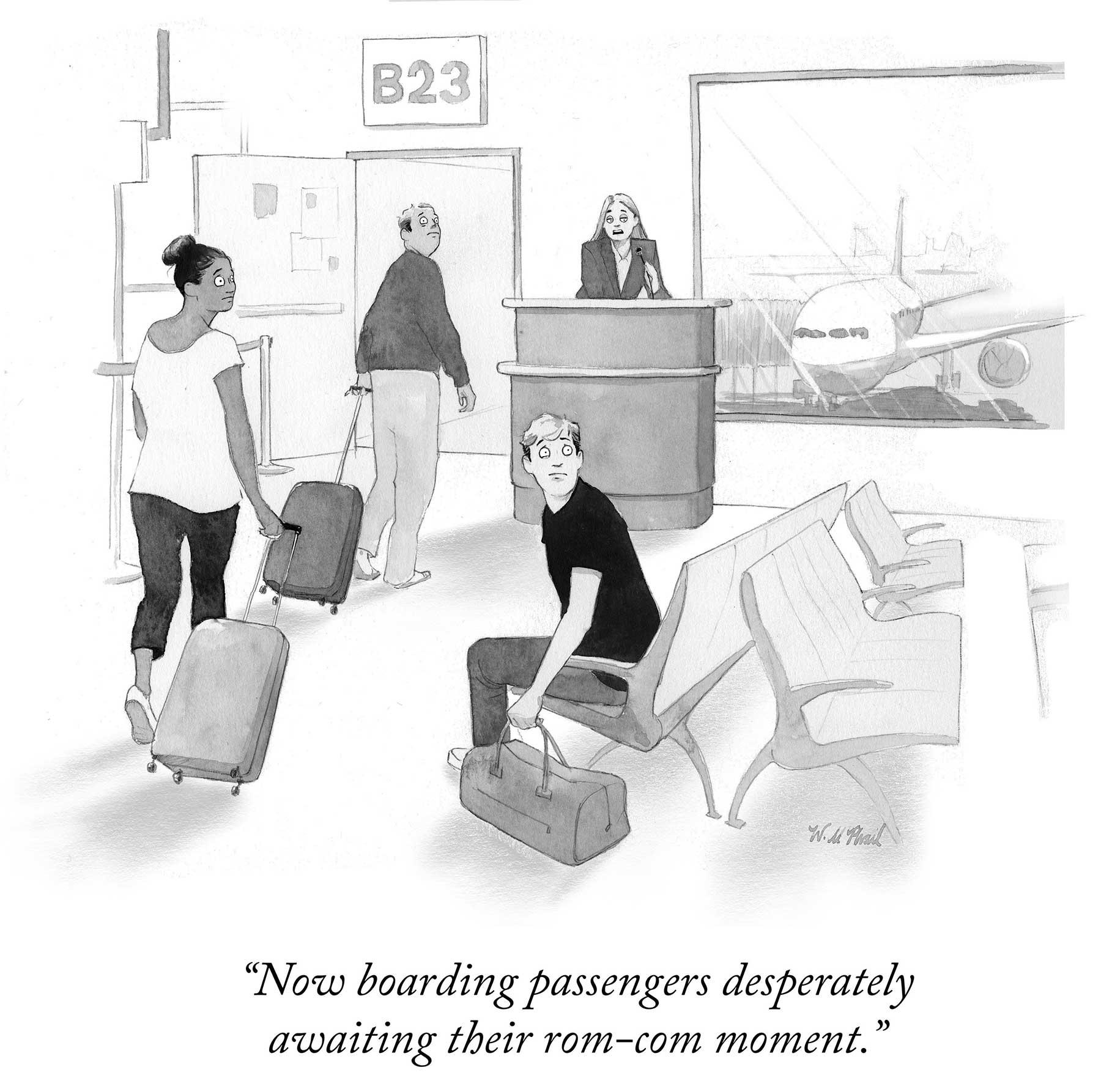 """Cartoons von Will McPhail für """"The New Yorker"""" Will-McPhail-cartoons-the-new-yorker_10"""