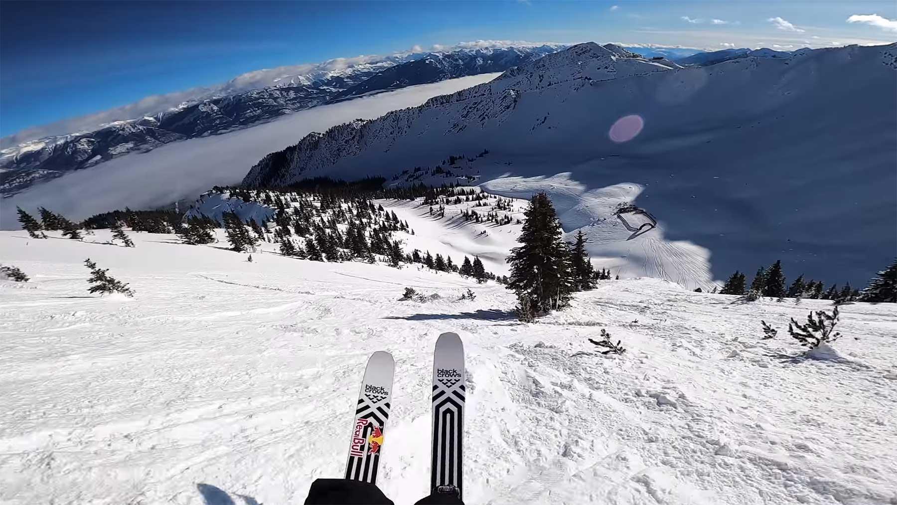 Ski-POV-Abfahrt mit Kristofer Turdell
