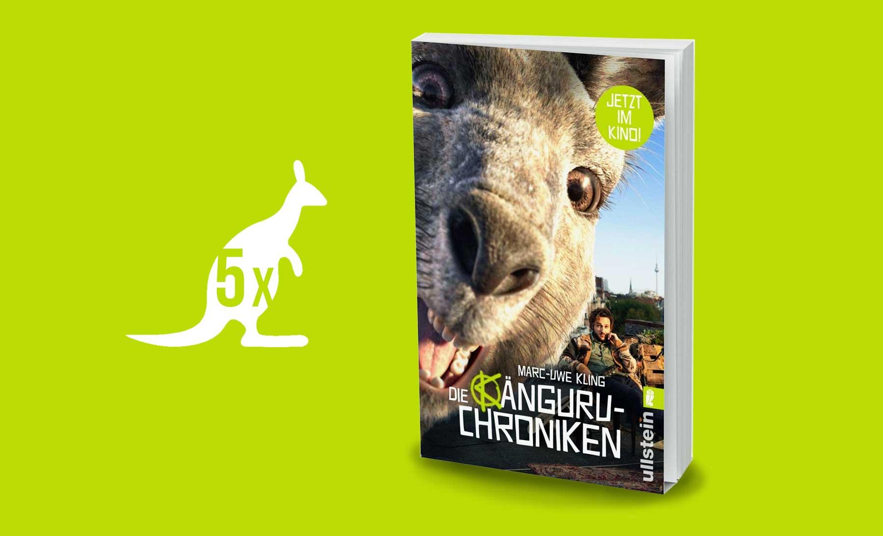 """Gewinnt 5x die Filmausgabe von """"Die Känguru-Chroniken""""!"""