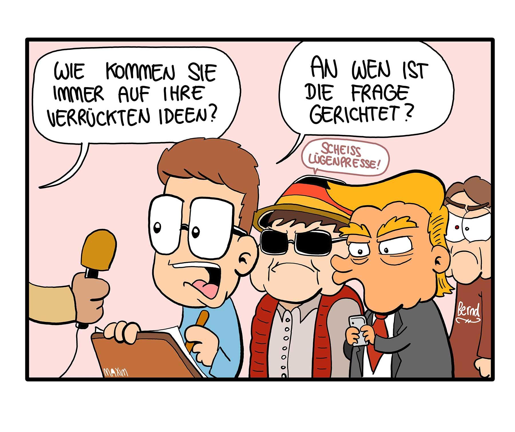 Gedanken einer 18-Jährigen: Gesellschaftskritische Cartoons livia-kolumne-gesellschaftskritische-webcomics_00