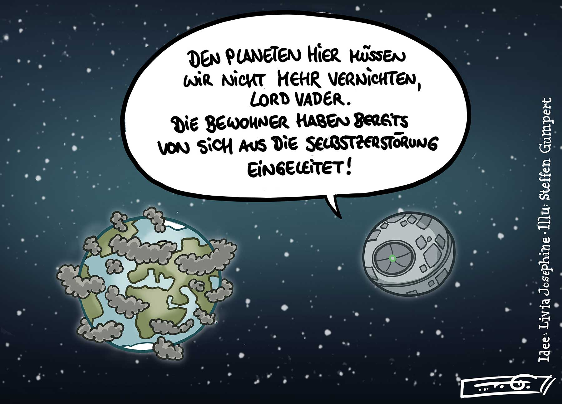 Gedanken einer 18-Jährigen: Gesellschaftskritische Cartoons livia-kolumne-gesellschaftskritische-webcomics_02