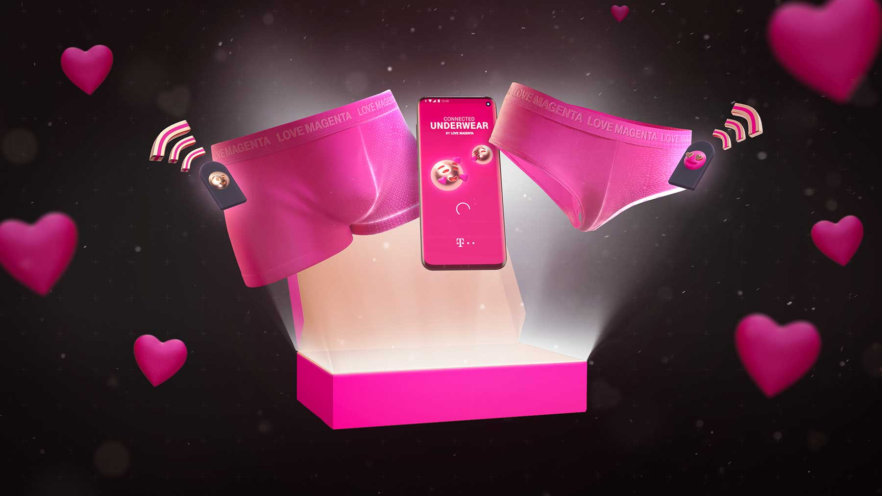 """Gewinnt """"Connected Underwear"""": Smartphone-Blocker für mehr Zeit zu zweit love-magenta-connected-underwear-valentinstag_02"""