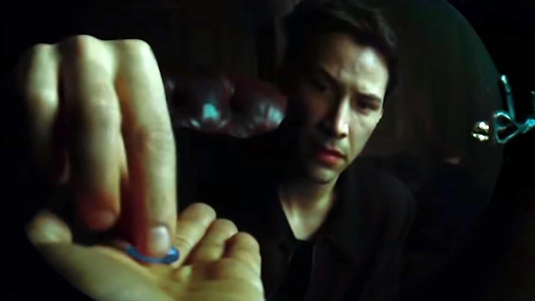 Wenn Neo die blaue Pille genommen hätte neo-nimmt-blaue-pille