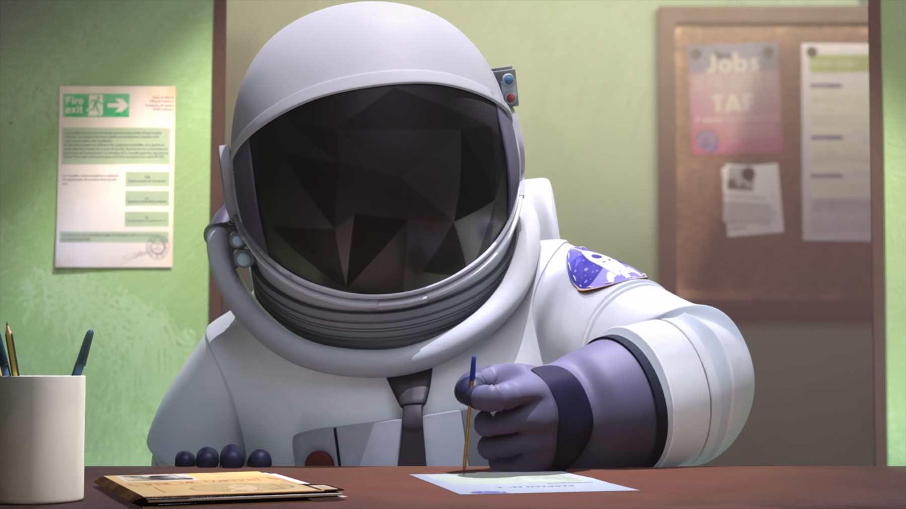 Ein Astronaut auf der Suche nach irdischer Schwerelosigkeit