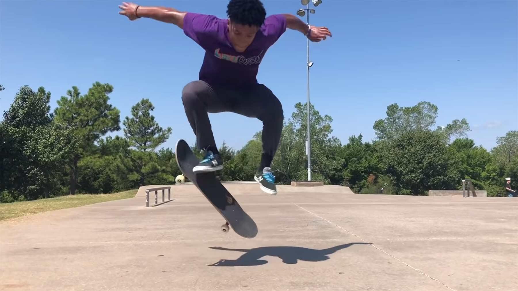 Ein Jahr Skateboard-Lernen in 7 Minuten skateboarden-lernen-1-jahr-fortschritt-im-video