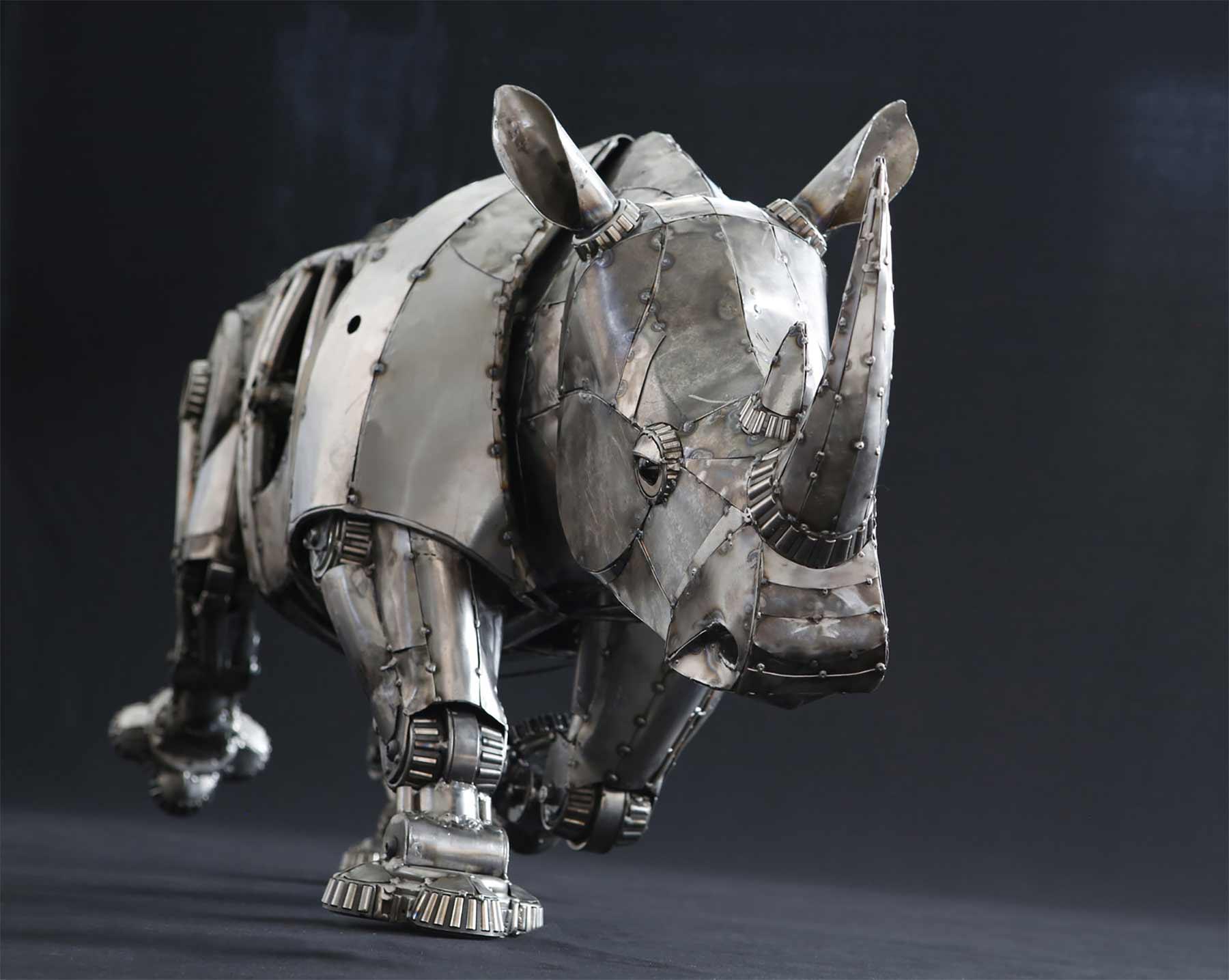 Tierskulpturen aus Metall von Andrew Chase Andrew-Chase-tierskulpturen-metall_03