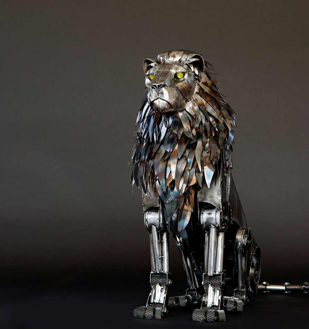 Tierskulpturen aus Metall von Andrew Chase Andrew-Chase-tierskulpturen-metall_05