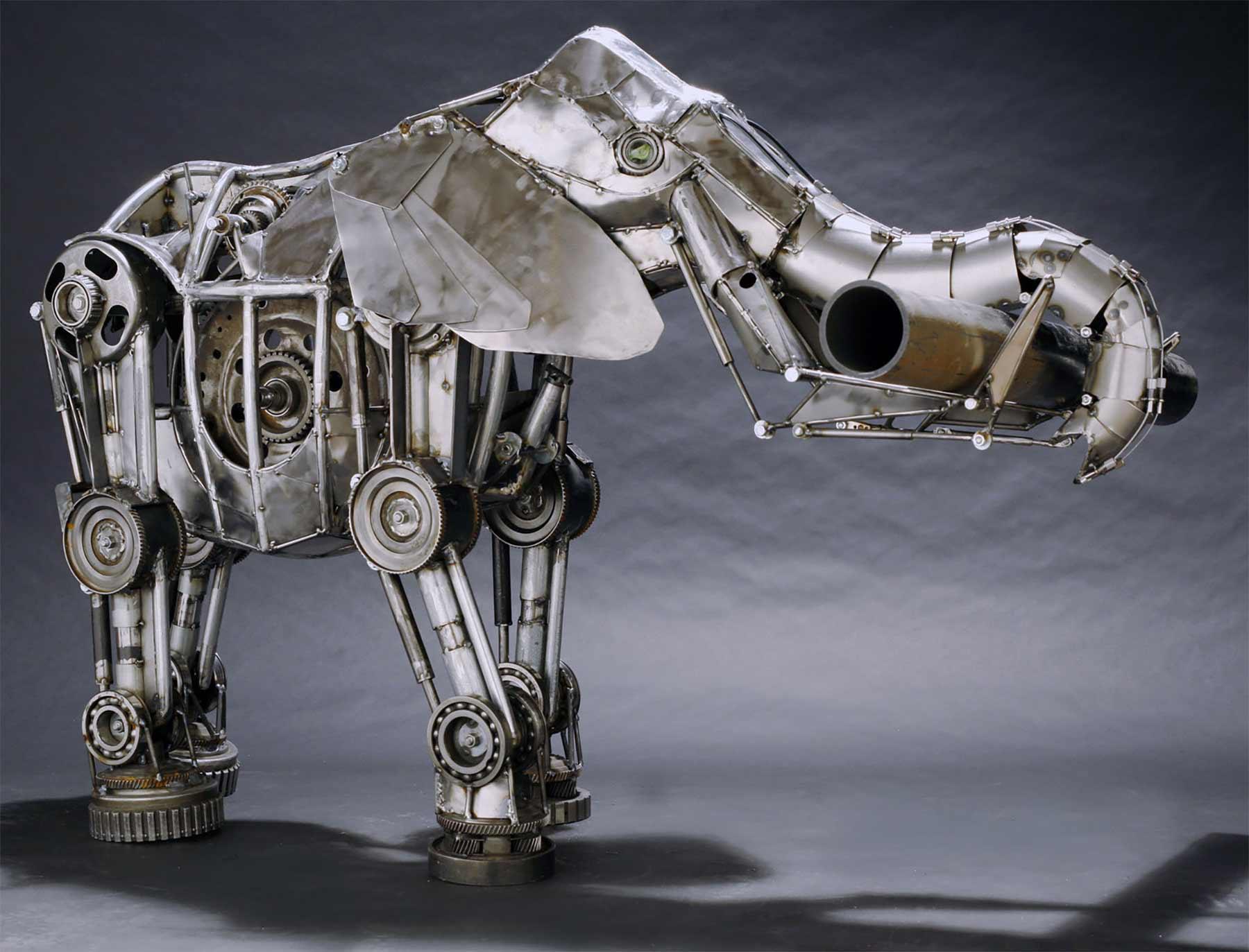 Tierskulpturen aus Metall von Andrew Chase Andrew-Chase-tierskulpturen-metall_06
