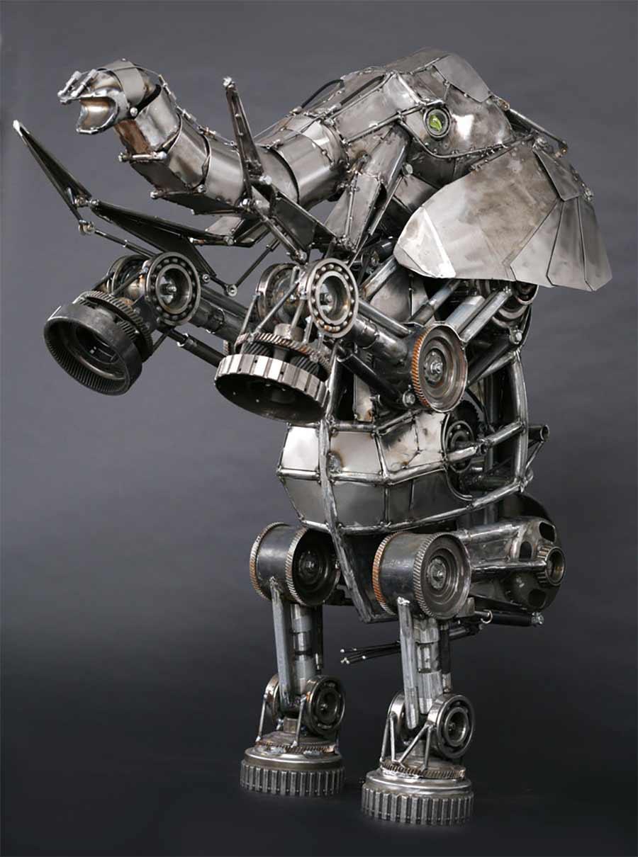 Tierskulpturen aus Metall von Andrew Chase Andrew-Chase-tierskulpturen-metall_07