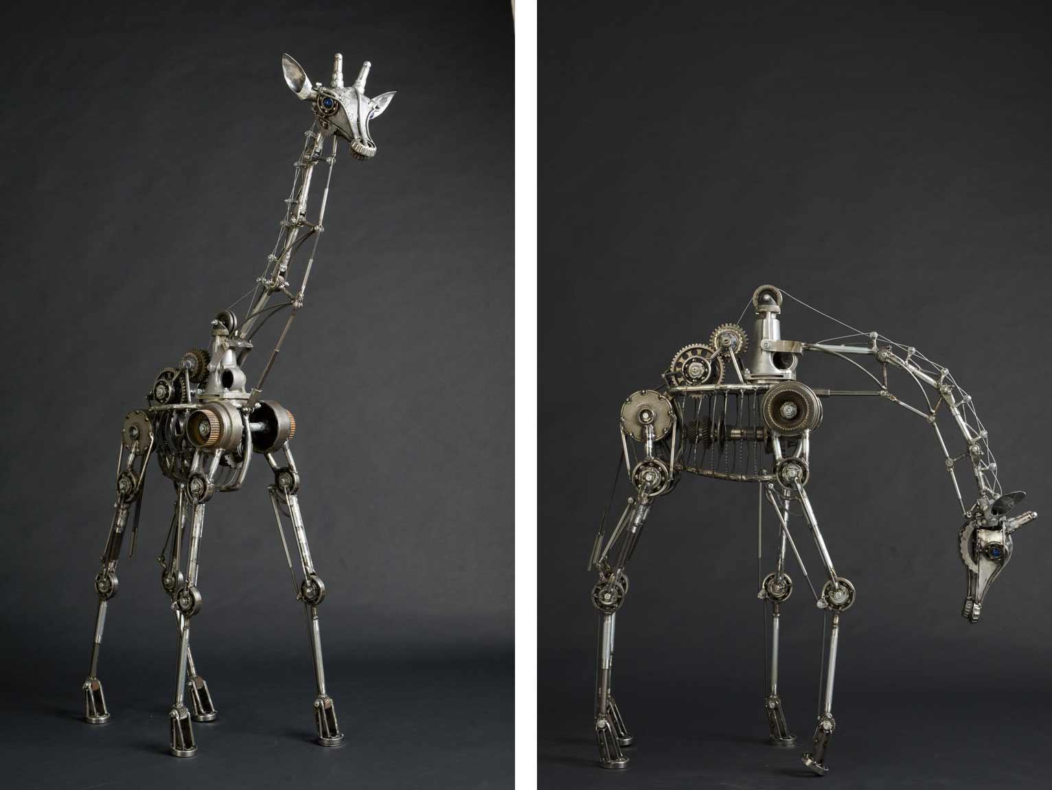 Tierskulpturen aus Metall von Andrew Chase Andrew-Chase-tierskulpturen-metall_08