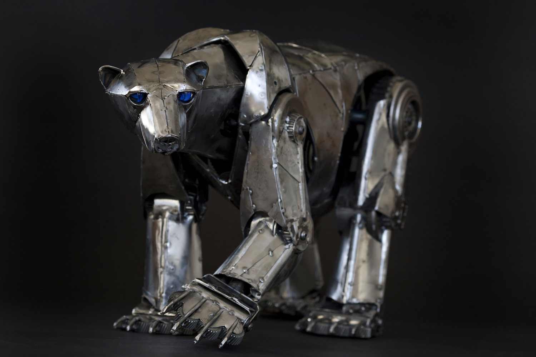 Tierskulpturen aus Metall von Andrew Chase Andrew-Chase-tierskulpturen-metall_09