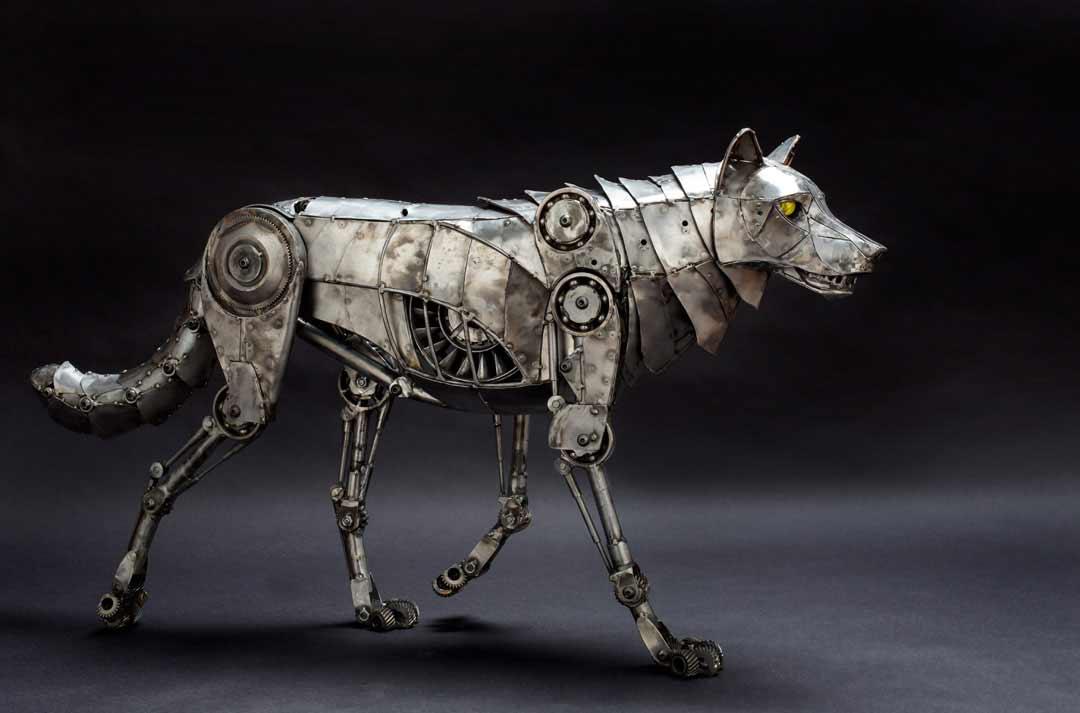 Tierskulpturen aus Metall von Andrew Chase Andrew-Chase-tierskulpturen-metall_10