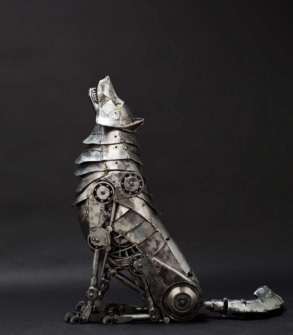 Tierskulpturen aus Metall von Andrew Chase Andrew-Chase-tierskulpturen-metall_11