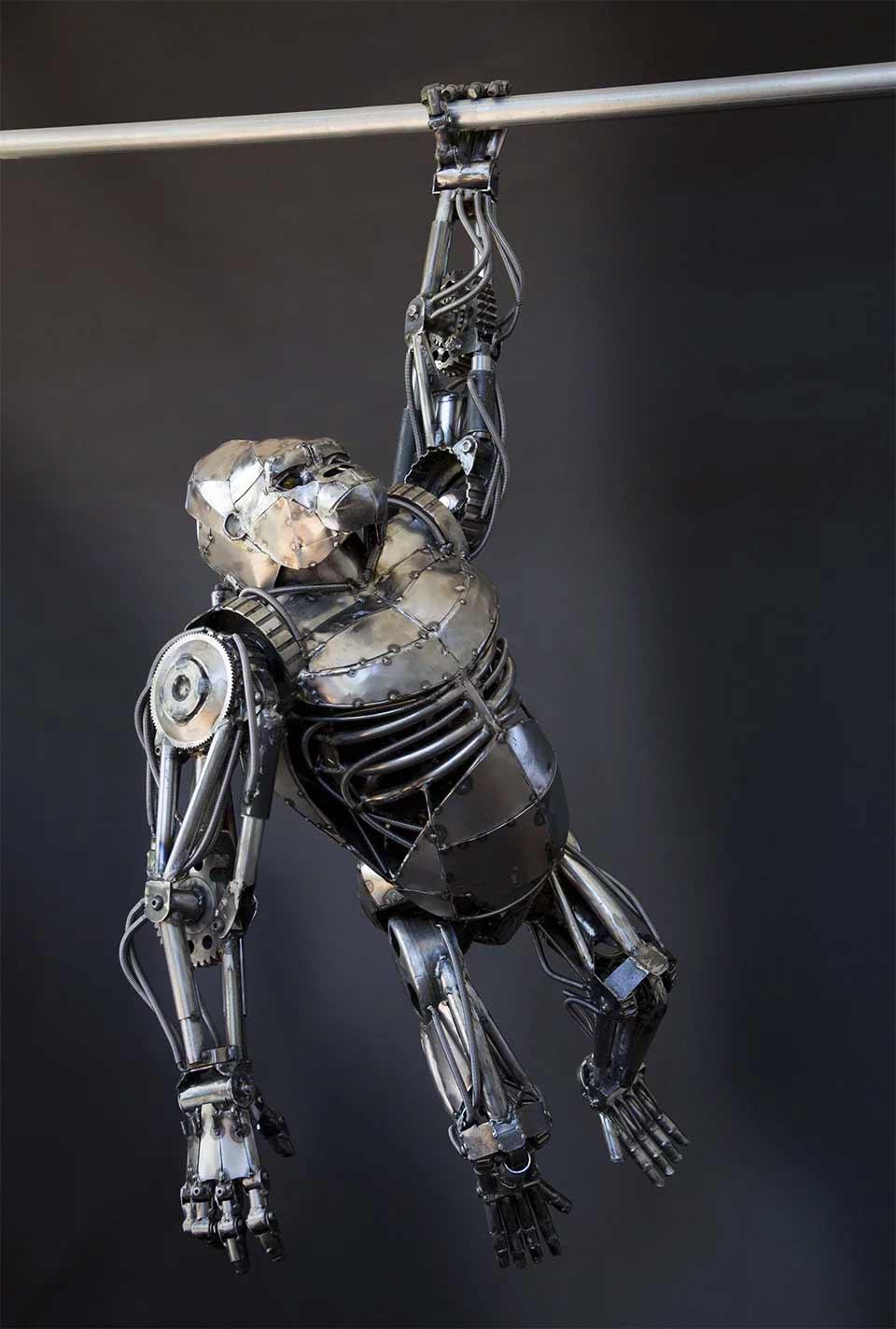 Tierskulpturen aus Metall von Andrew Chase Andrew-Chase-tierskulpturen-metall_12