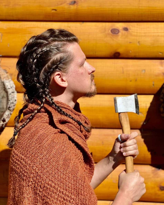 Arbeitsverhinderte Haarstylistin frisiert ihren Mann täglich neu Heidi-Oley_08