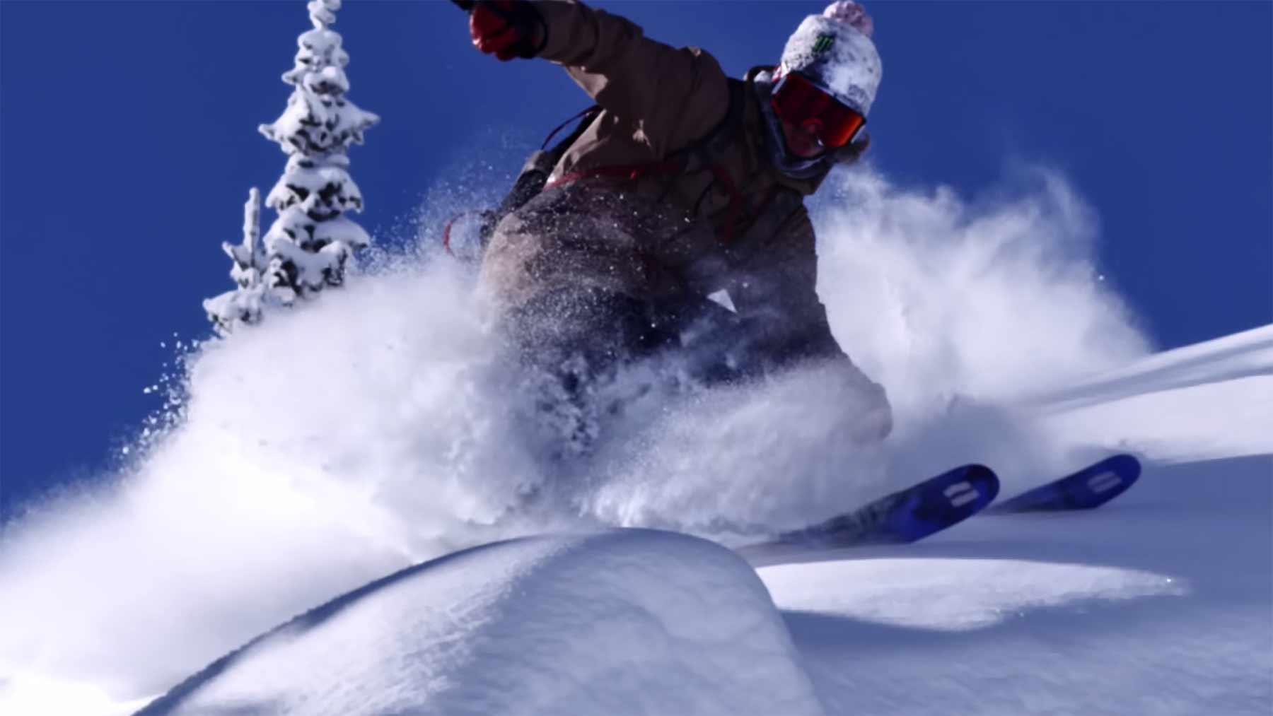 Ski-Schnee-Spaß mit Sammy Carlson