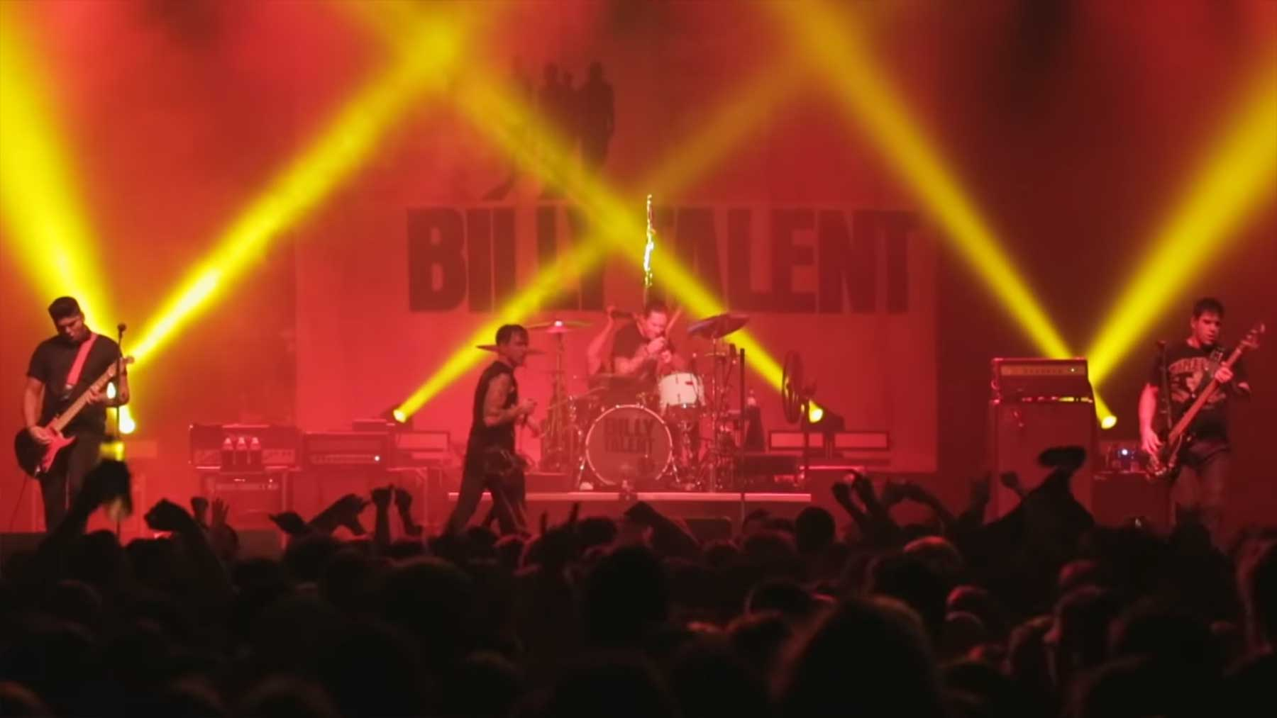 Billy Talent: 60 Minuten Live-Konzert voller Hits