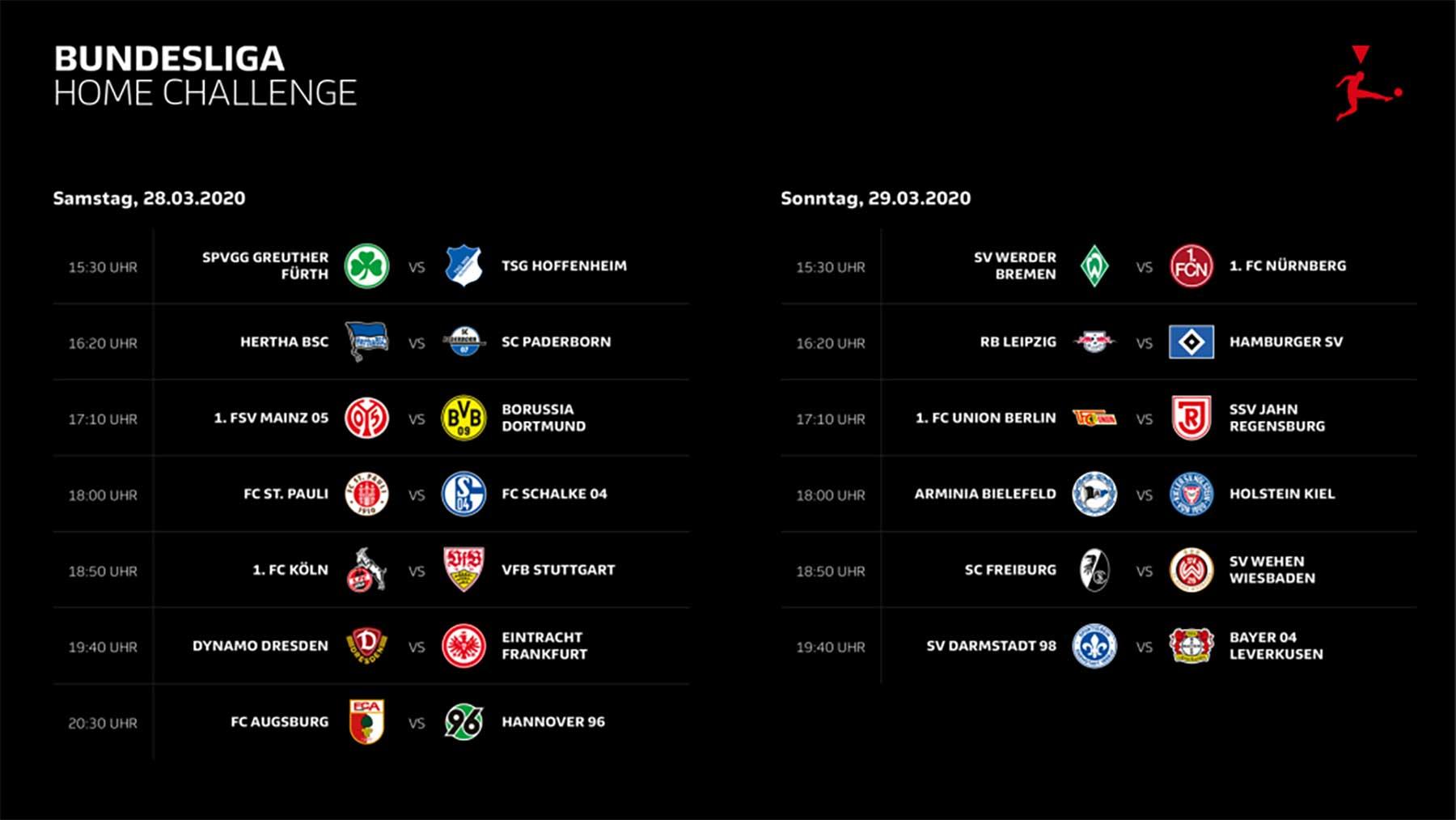 """Bundesliga Home Challenge"": Profi-Kicker spielen Fifa-Turnier bundesliga-home-challenge-spieltag-1"