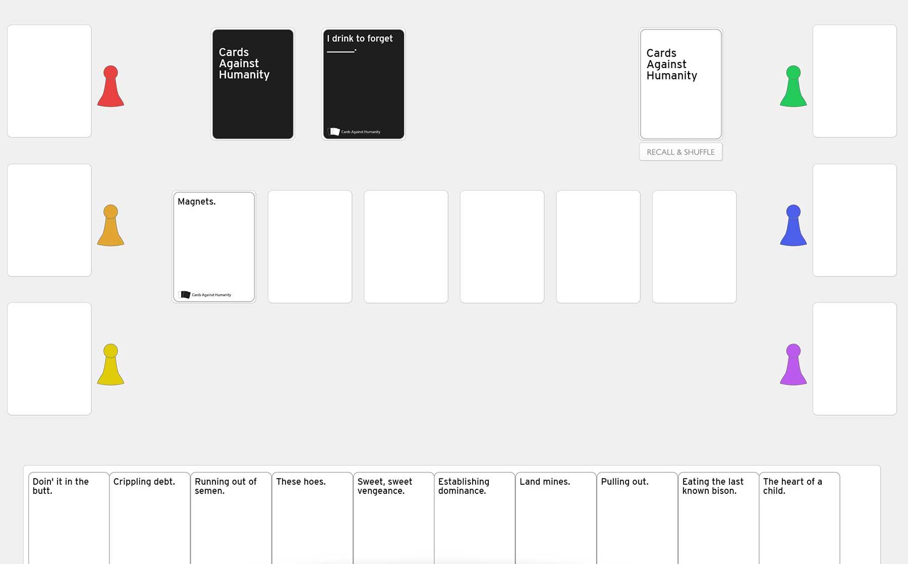 Coronavirus: Spiele via Skype mit Freunden von Zuhause online spielen cards-against-humanity