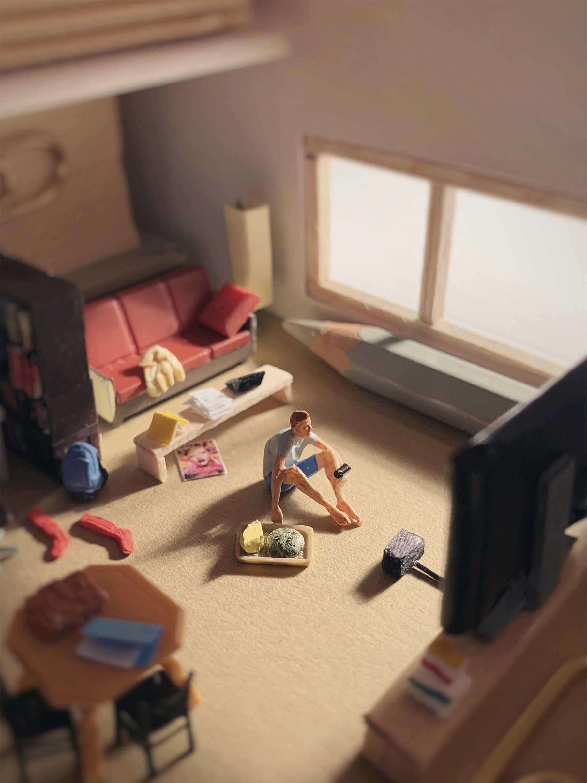 Neue Miniatur-Szenerien von Derrick Lin