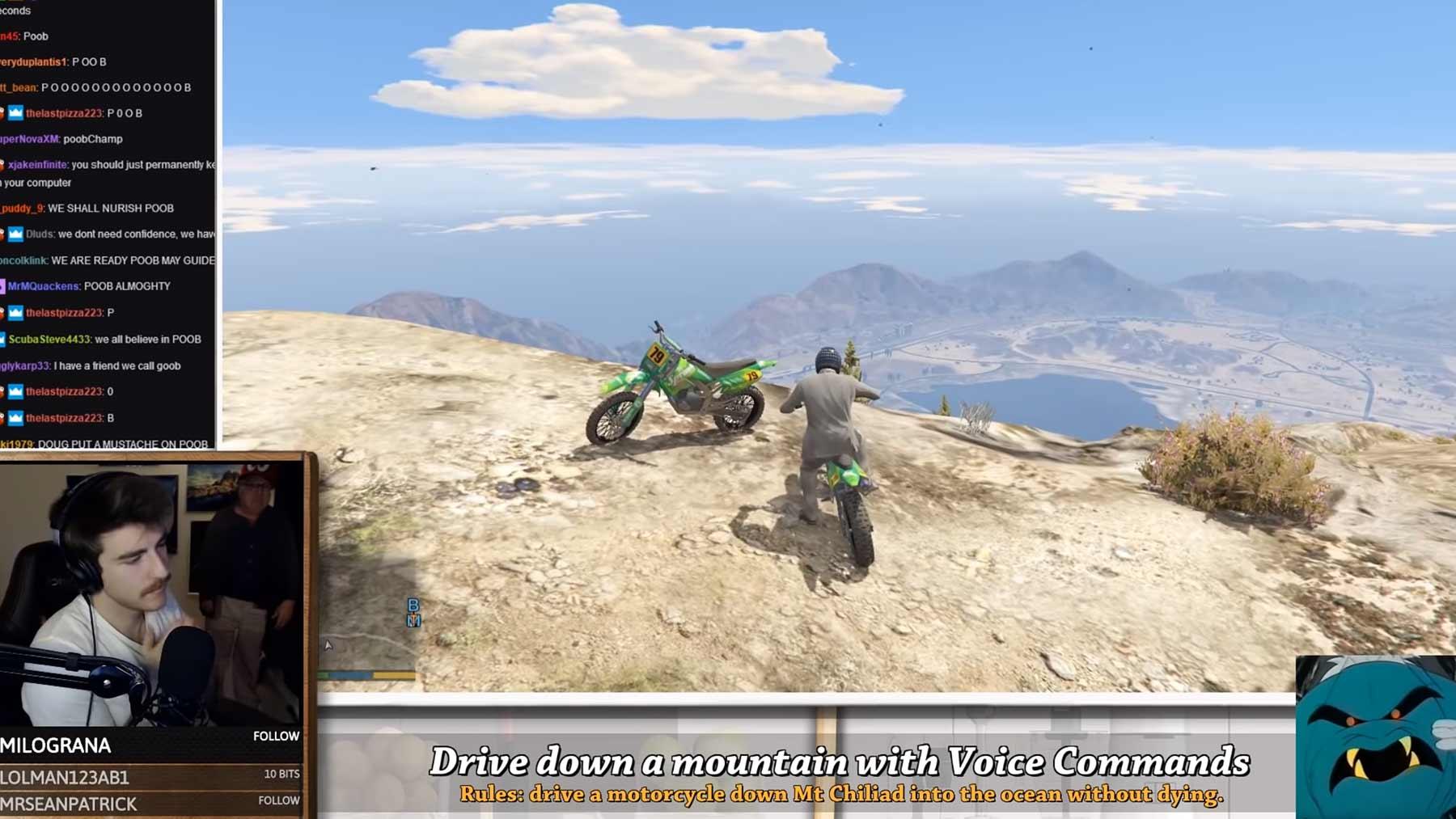 GTA V: Motorrad mit der Stimme steuern