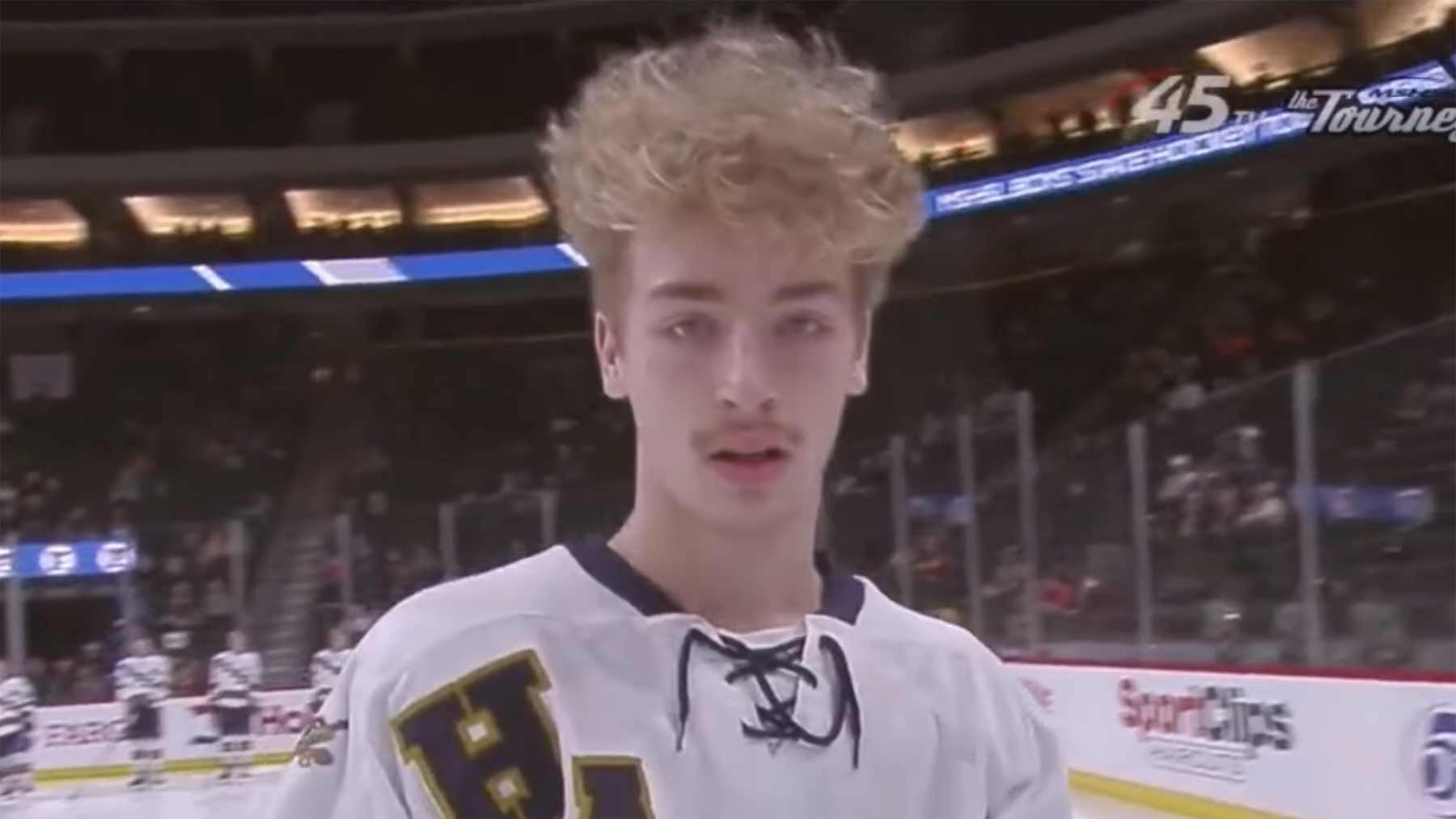 2020 High School All Hockey Hair Team