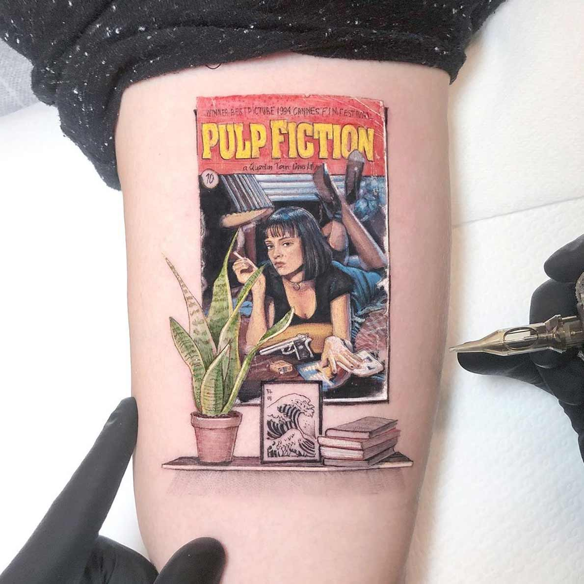 Gestochene Popkultur-Liebe von Eden Kozokaro aka Kozo Tattoo kozo-tattoos_12