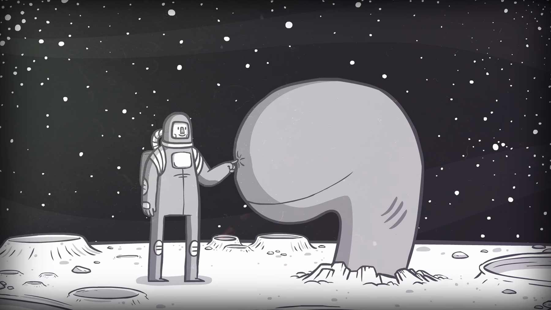 "Kurzkurzfilm ""Death in Space"""