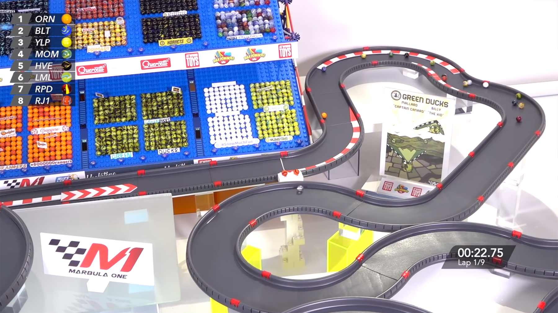 Marbula One: Formel-1-Murmelrennen
