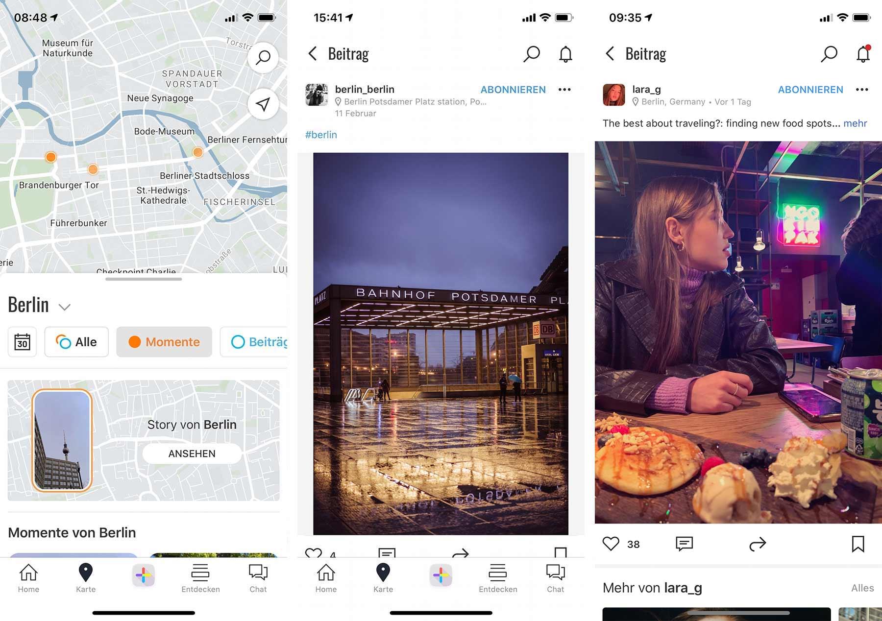 """""""mylivn"""" im Test: Der neue Social-Media-Hero aus München? mylivn-berlin-posts"""