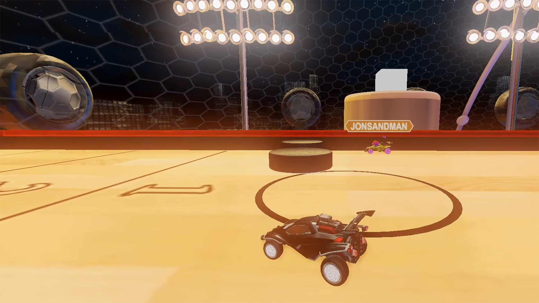 Rocket League: Skatepark- und Shuffleboard-Maps