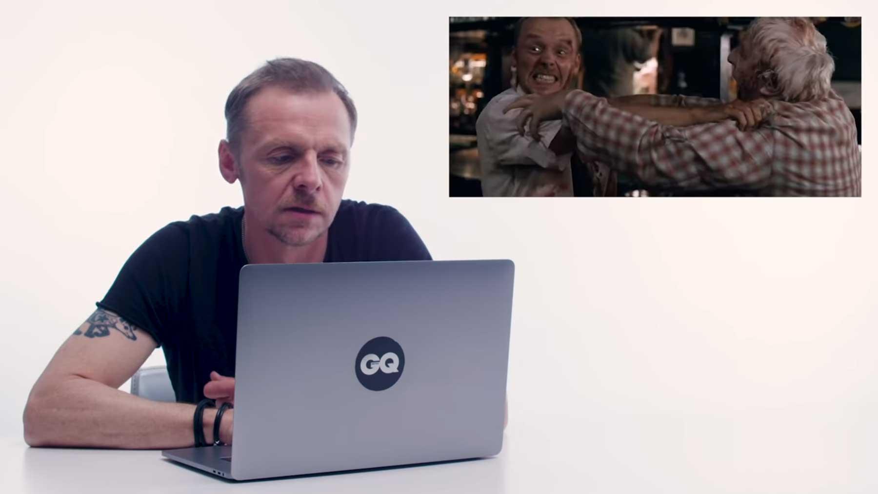 """Simon Pegg quatscht ein bisschen über """"Shaun of the Dead"""""""